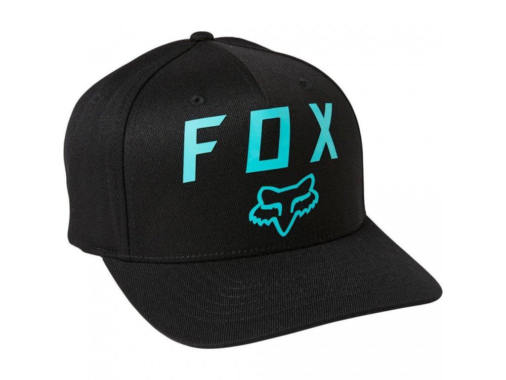 KSILTOVKA FOX NUMBER 2 FLEXFIT BLACK