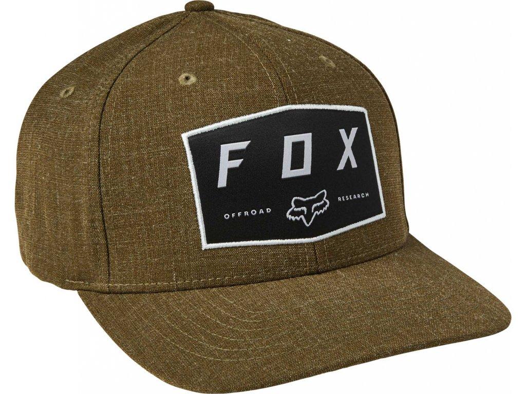 kšiltovka Fox Badge flexfit