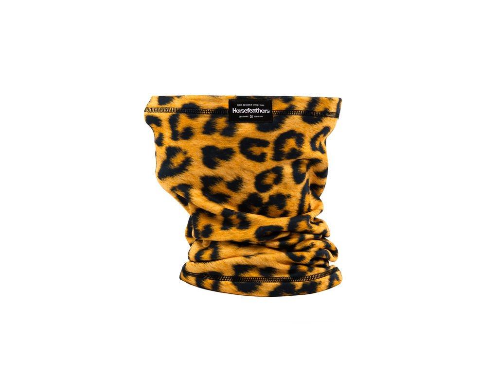 Horsefeathers Neck Warmer leopard nákrčník