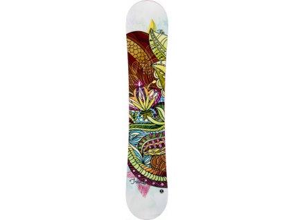 Snowboard Trans FE Rocker Girl White