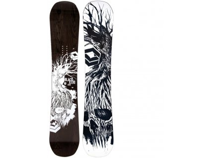 Snowboard Ftwo Blackdeck wood 18/19