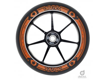 diw19004 district w120 wheels orange single