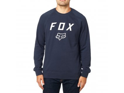 MIKINA FOX LEGACY CREW FLEECE MIDNIGHT