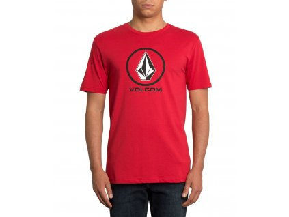 TRIKO VOLCOM CRISP STONE ENGINE RED