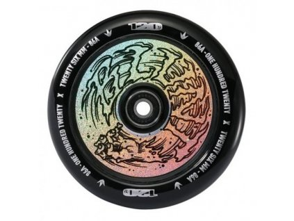 blunt wheel 120mm hollow hologram hand