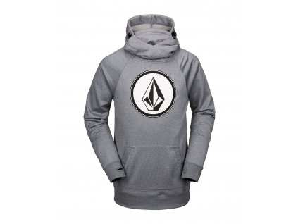 MIKINA VOLCOM HYDRO RIDING HEATHER GREY