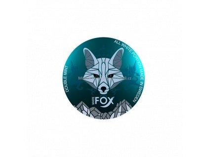 TABÁK WHITE FOX DOUBLE MINT