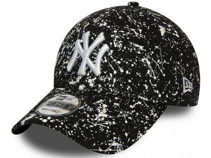 Kšiltovka New Era 940 MLB Paint Pack NEYYAN Black/White