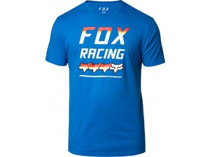 TRIKO FOX FULL COUNT SS PREM.TEE ROY BLU