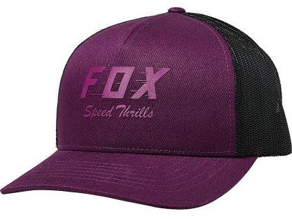 Kšiltovka Fox Speed Thrills Trucker Dark Purple