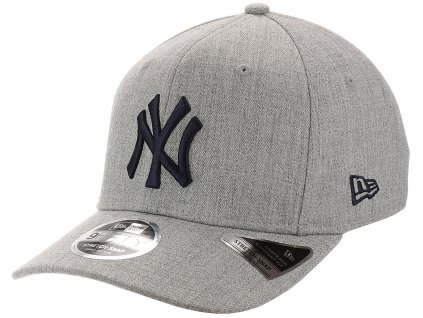 Kšiltovka New Era 950 Stretch Snap Heather Grey