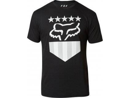 TRIKO FOX FREEDOM SHIELD SS TEE BLACK