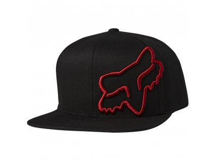 KŠILTOVKA FOX HEADERS SNAPBACK BLK/RED