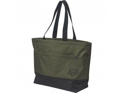 TAŠKA FOX QUEST TOTE OLIVE GREEN