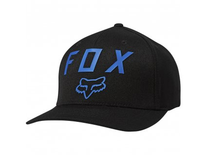 KŠILTOVKA FOX NUMBER 2 FLEXFIT BLK/BLUE