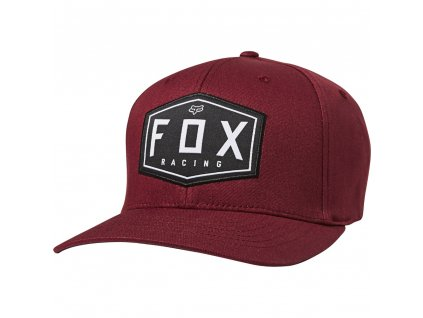 KŠILTOVKA FOX CREST FLEXFIT CRANBERRY