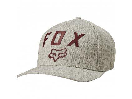 KŠILTOVKA FOX NUMBER 2 FLEXFIT HTR/GREY