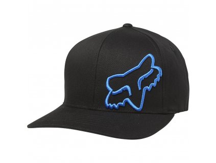 KŠILTOVKA FOX FLEX 45 FLEXFIT BLACK/BLUE