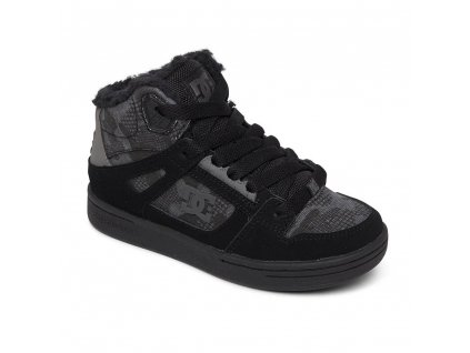 BOTY DC PURE HIGH TOP BLACK CAMOUFLAGE