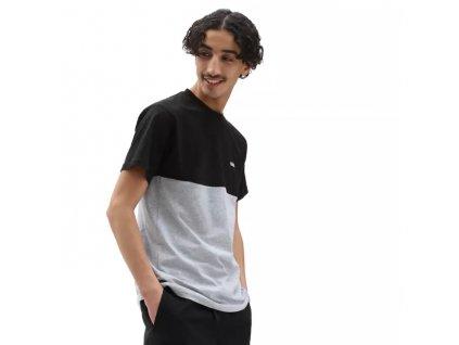 triko Vans colorblock černý