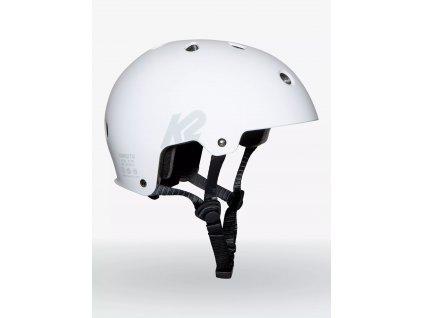k2skates 2122 varsity helmet white hero
