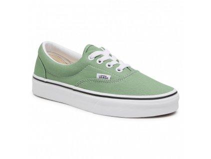 boty Vans Era zelené s bílou