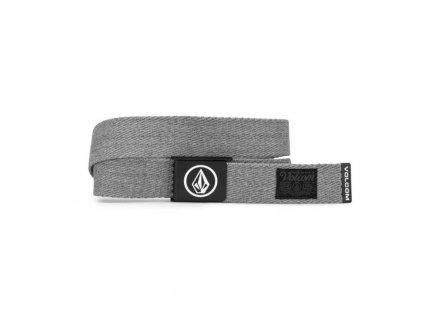 pásek volcom circle web heather grey 3