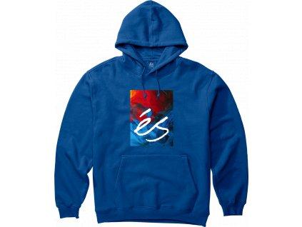 mikina És Hyper Logo Hood Royal