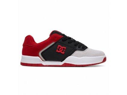 boty DC Central černo červené