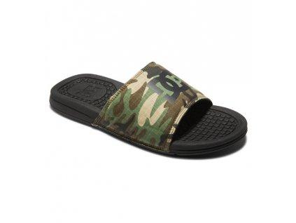 pantofle DC Bolsa černé maskáč