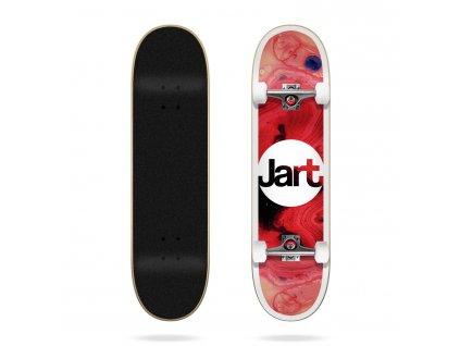 jart tie dye 7 87 complete skateboard