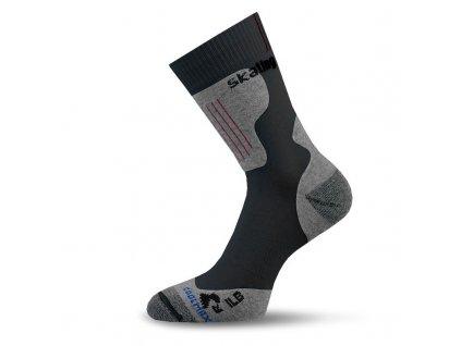 lasting funkcni inline ponozky ilb cerne