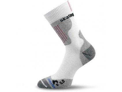 lasting funkcni inline ponozky ilb bile