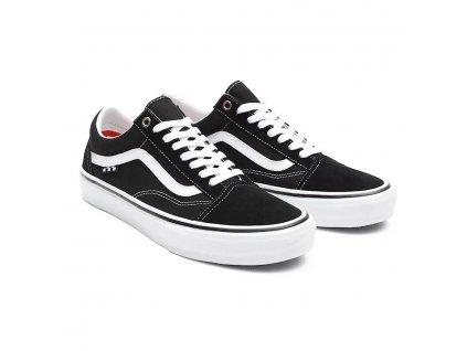 tenisky vans skate old skool black white