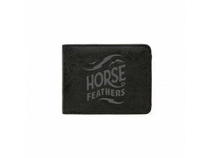 PENĚŽENKA HORSEFEATHERS HACKNEY BLACK