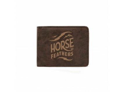 PENĚŽENKA HORSEFEATHERS HACKNEY BROWN