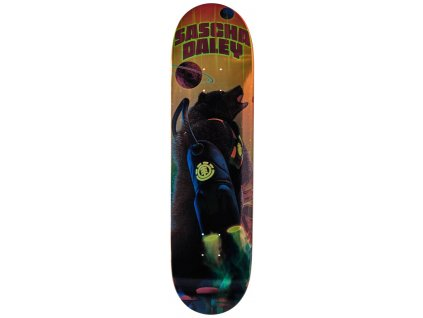 element future nature skateboard deck 9m
