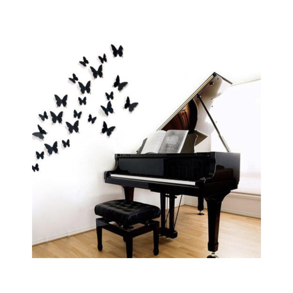 samolepiaca tapeta dekoracna samolepka na stenu nalepka motyle plastove interierovy dizajn stylovydomov