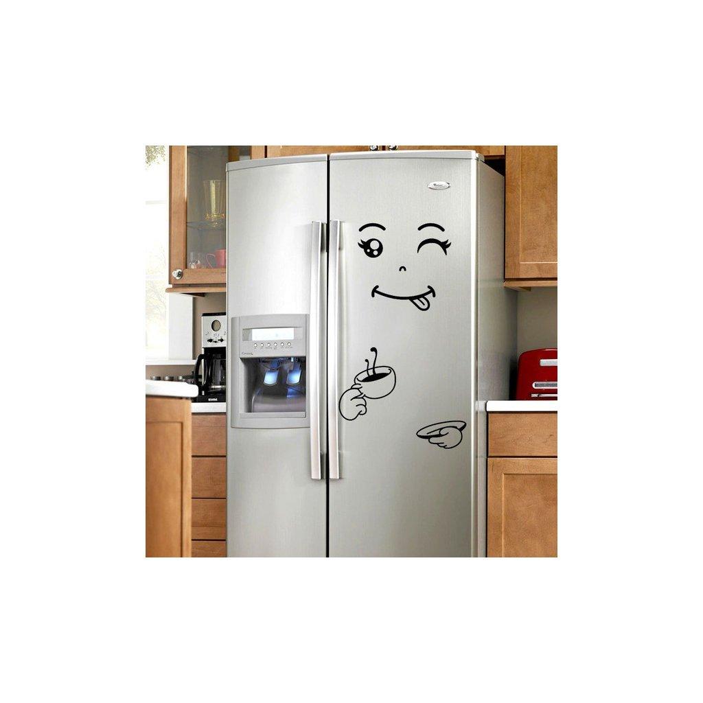 """Samolepka na ledničku """"Štístko 4"""" 40x50cm"""