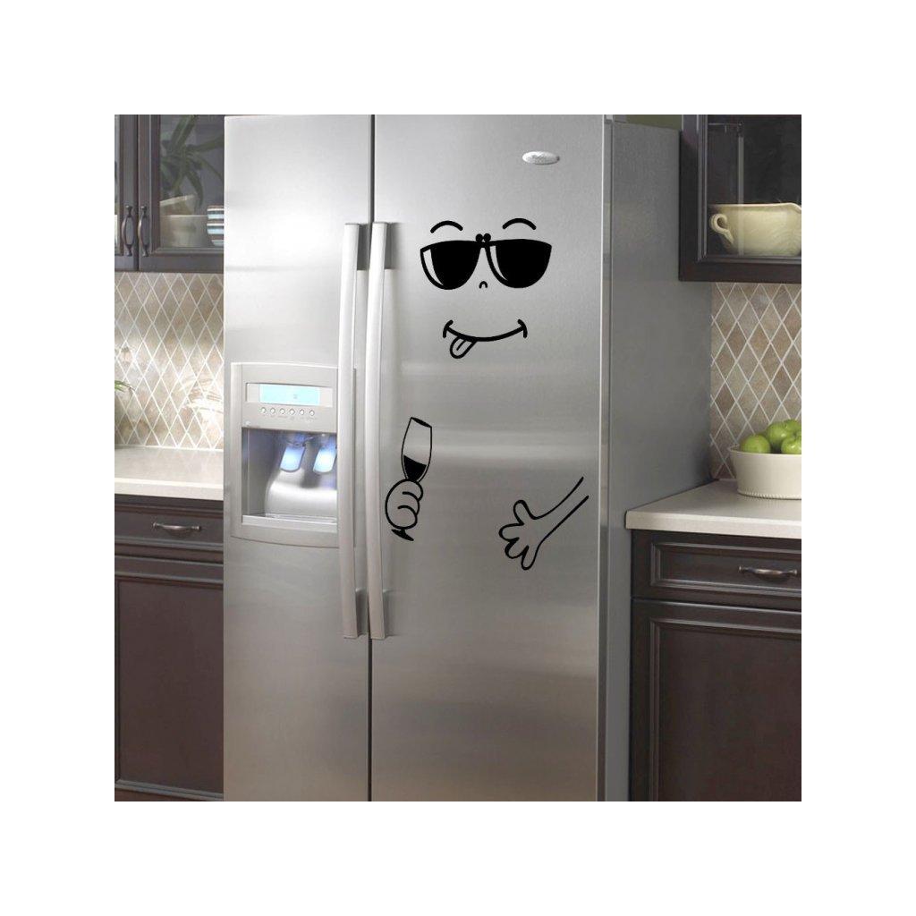 """Samolepka na ledničku """"Štístko 1"""" 80x60cm"""