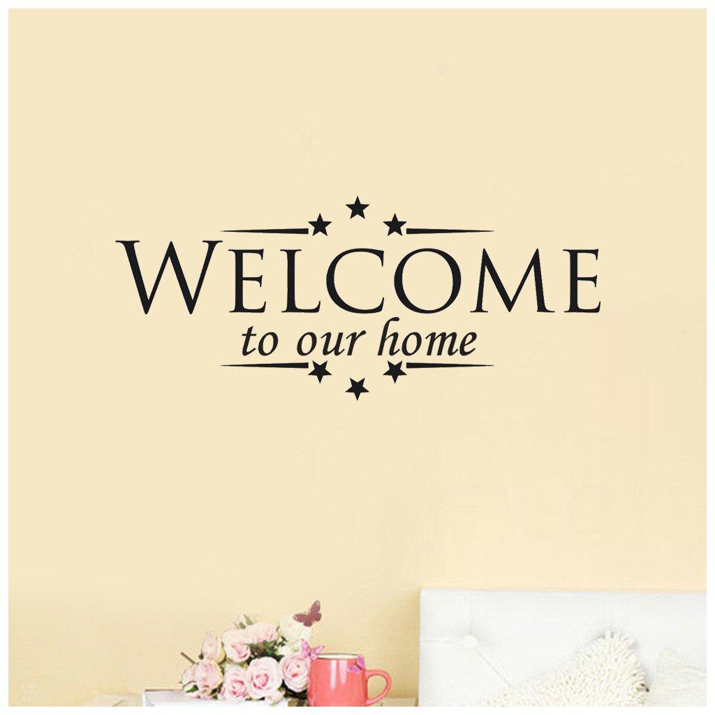 samolepiaca tapeta dekoracna samolepka na stenu vinylova nalepka domov home welcome vitajte dizajn dekoracia vizualizacia stylovydomov