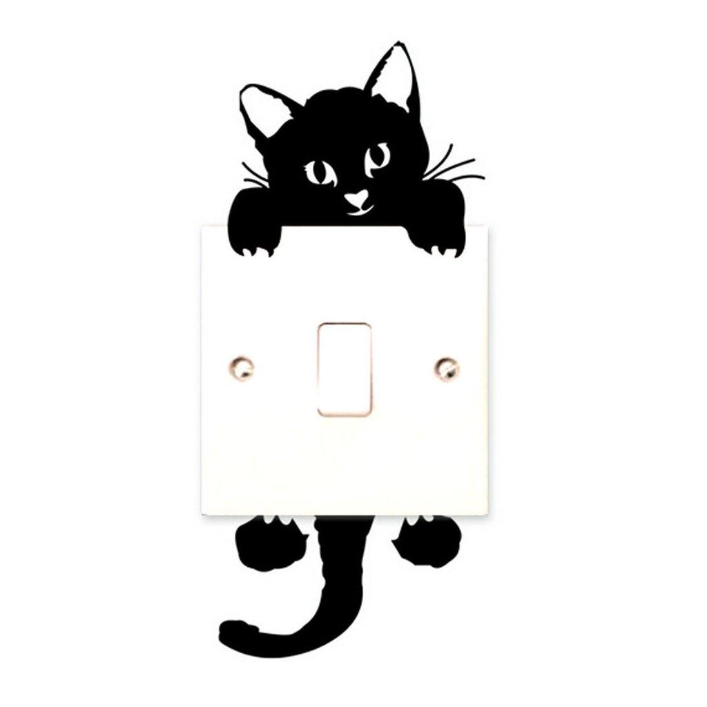 "Samolepka na vypínač ""Kočička 3"" 7x17 cm"