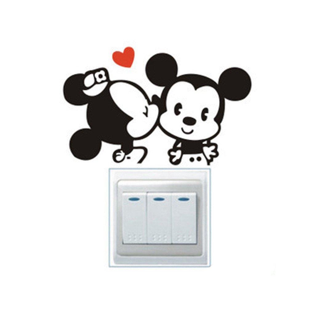 """Samolepka na vypínač """"Mickey Mouse"""" 10x10cm"""