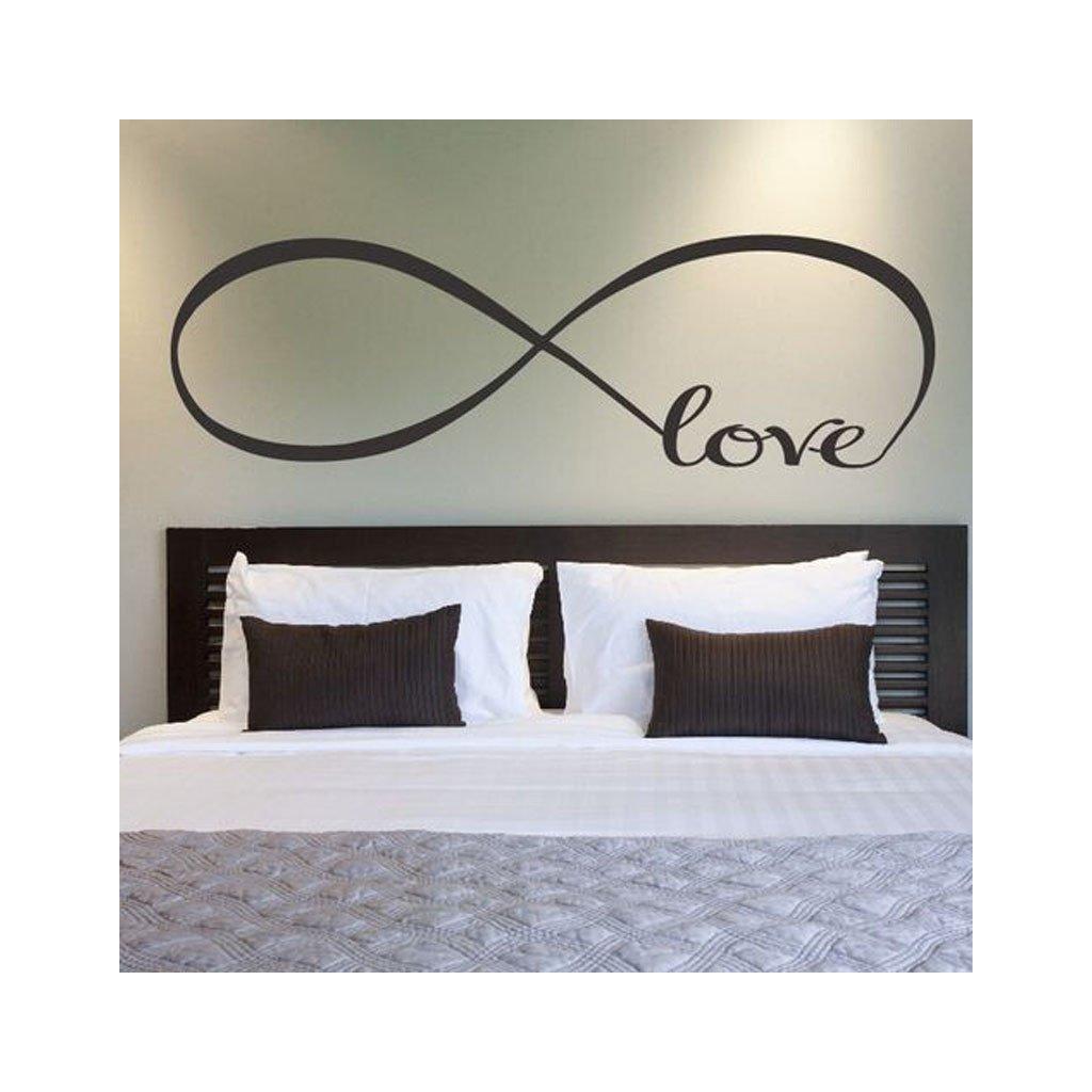 samolepiaca tapeta dekoracna samolepka na stenu vinylova nalepka love laska dizajn dekoracia nahlad stylovydomov