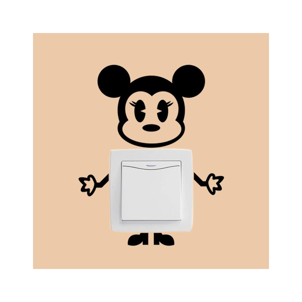 "Samolepka na vypínač ""Minnie Mouse"" 19x15 cm"