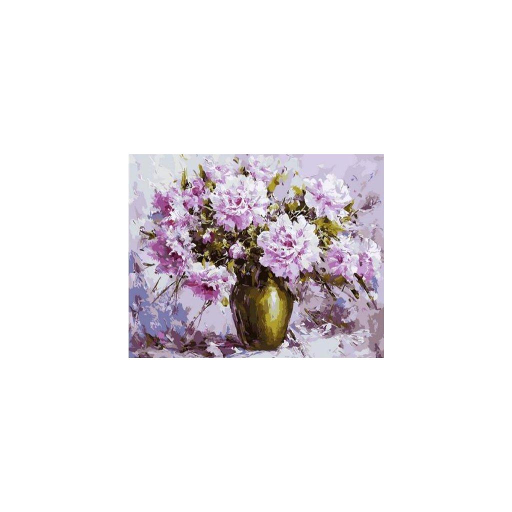 Váza s pivonkami