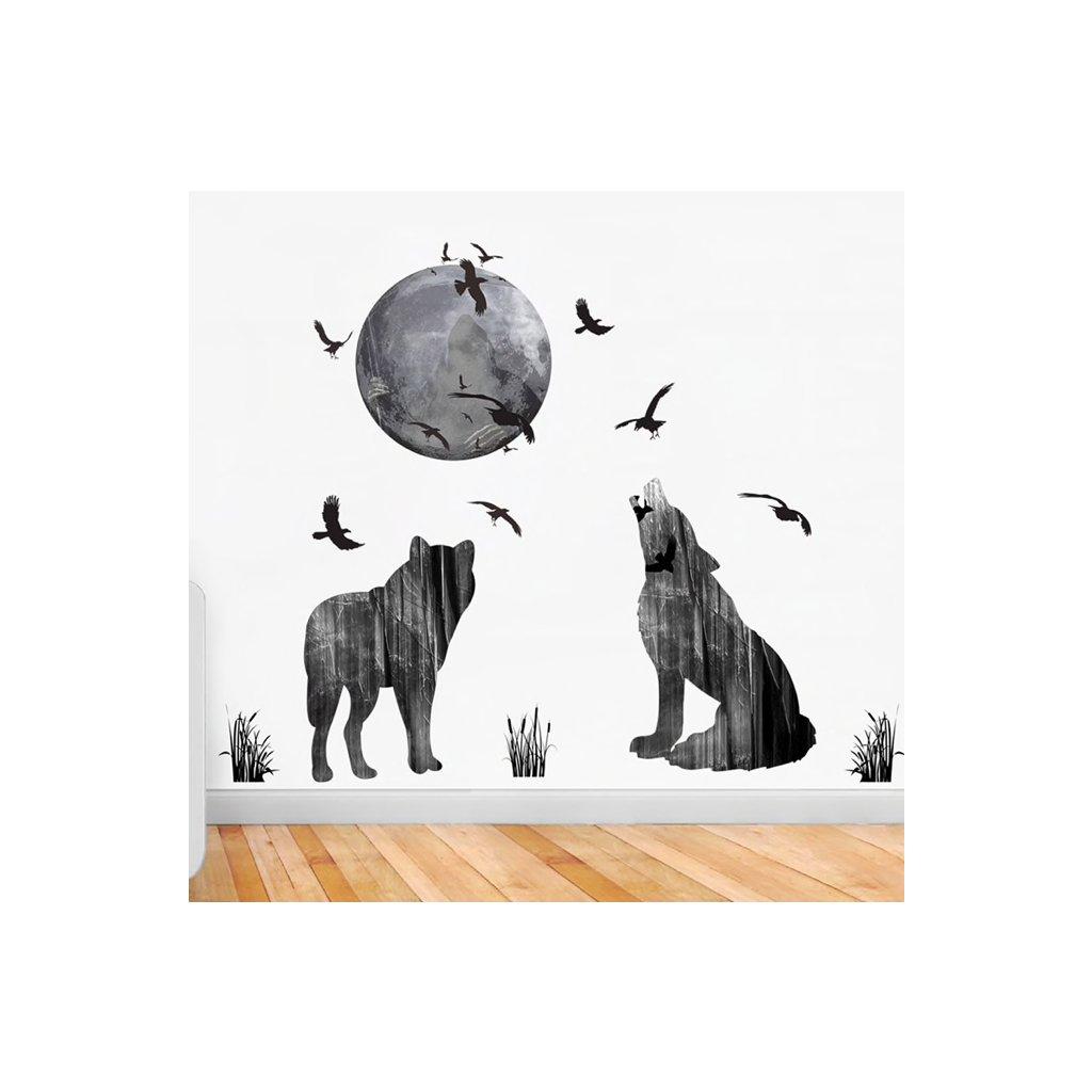 Vlky a mesiac úvod