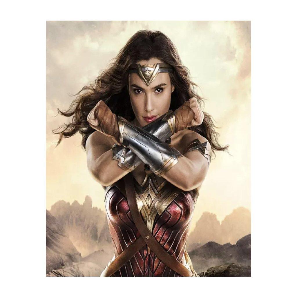 """Malování podle čísel  """"Wonder woman"""" 50x40 cm"""