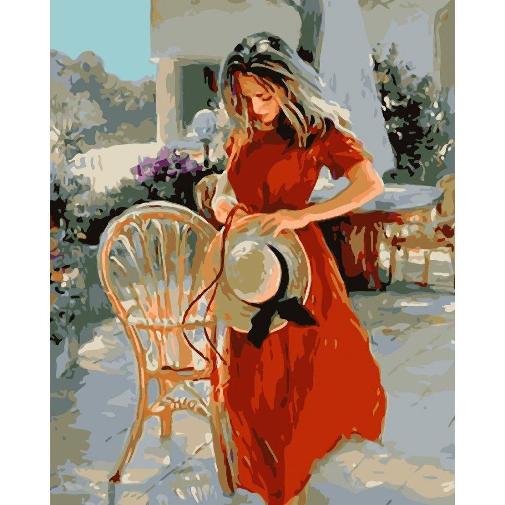 WM 1390 红裙姑娘