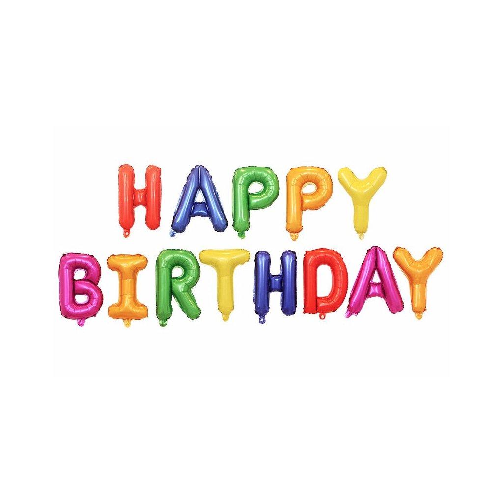 Nápis Happy Birthday